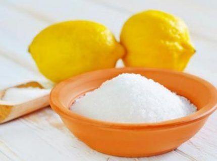 Лимонная кислота для чистки фильтра