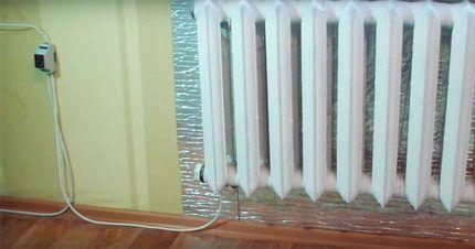 Радиатор с подключением