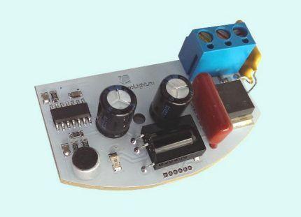 Оптико-акустический датчик температуры