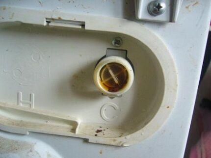 Заливной фильтр в машинке