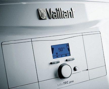 Газовый прибор с двумя контурами Vaillant