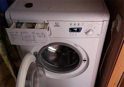 Внешний вид стиральной машины
