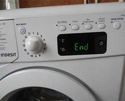 Стиральная машина с функцией EcoTime