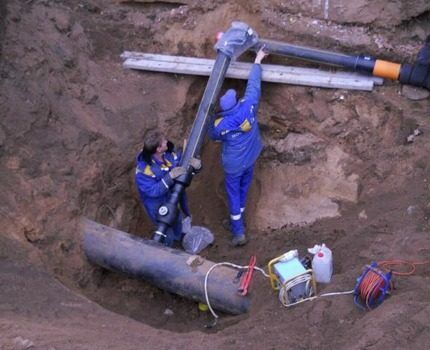 Монтаж параллельной линии газопровода