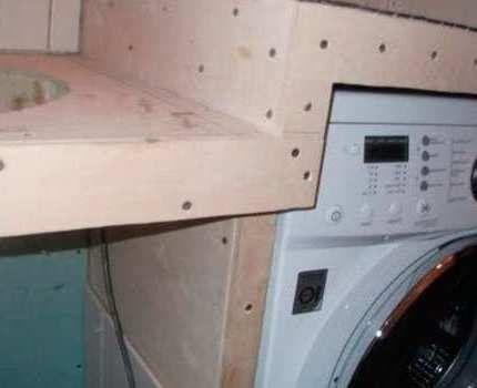Монтаж столешницы в ванной
