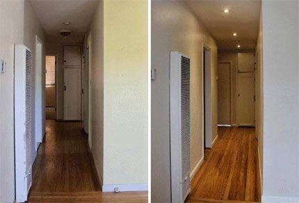 Проходное помещение коридора