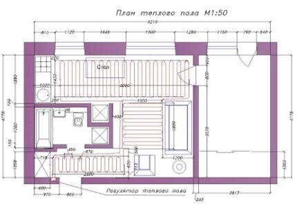Contour layout plan