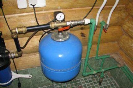 Проверка оборудования системы водоснабжения