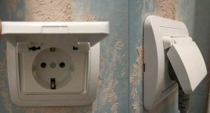Гнездо в ванной комнате