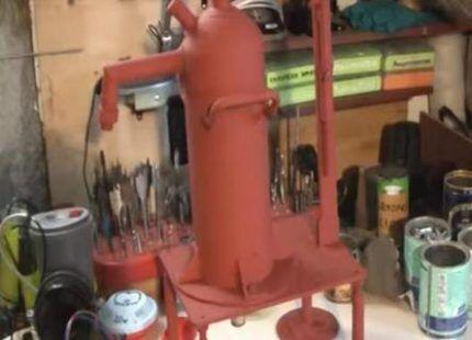 Штоковый насос для скважины
