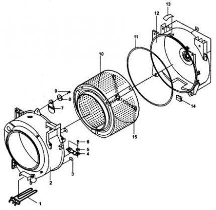 Схема деталей машинки