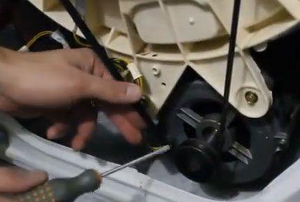Сборка стиральной машины Индезит