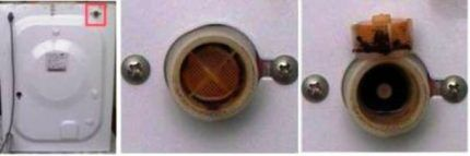 Сетка сливного клапана