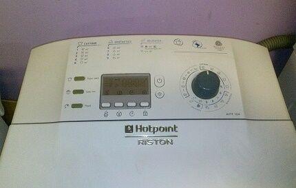 Вертикальная стиралка HOTPOINT-ARISTON WMTL601L