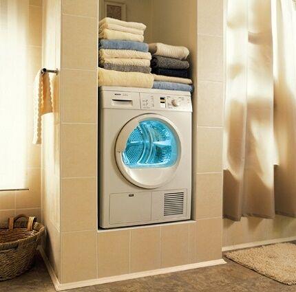 Эксплуатация стирально-сушильной машинки