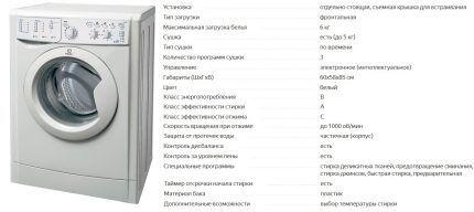 Модель Indesit IWDC 6105