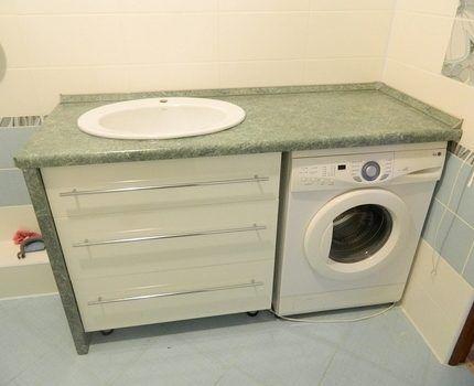 Столешница для ванной из ДСП