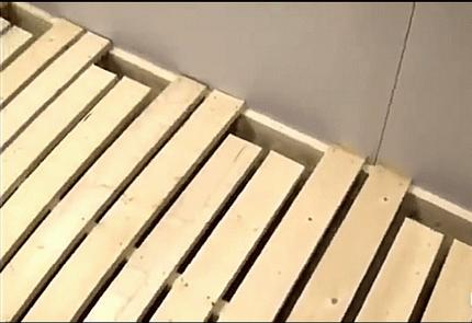 Водяной настильный пол