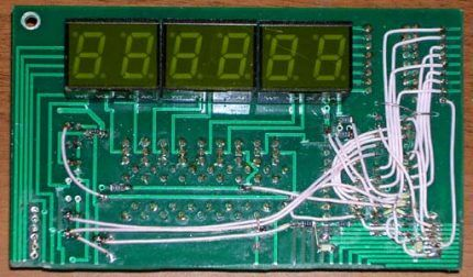 Термометр на терморезисторах