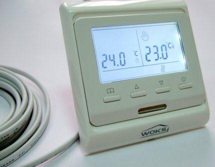 Электронный терморегулятор с дисплеем