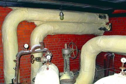 Теплоизоляционная пена для труб