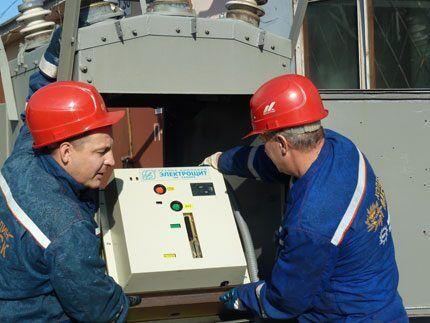 Ввод вакуумного выключателя в эксплуатацию