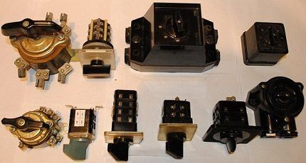 Variety of package switches