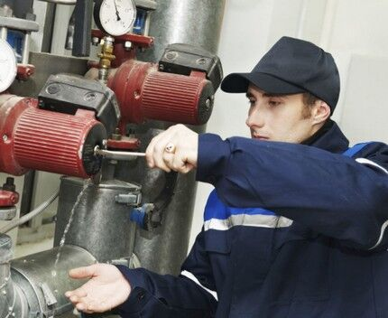 Service of the pump equipment