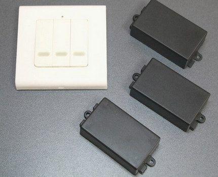 Беспроводной выключатель INTED-1-CH