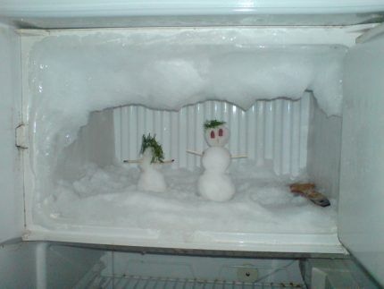 Размораживание морозилки