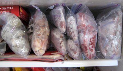 Meat storage
