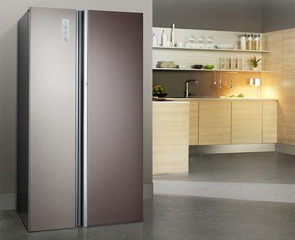 Двухдверный холодильник Дон