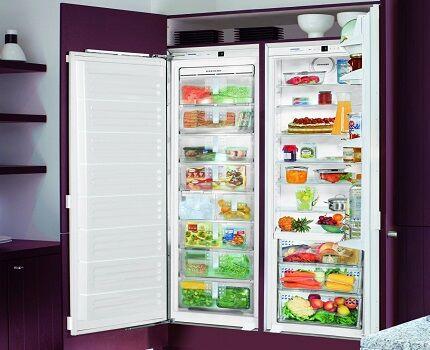 Холодильник с морозильным шкафом