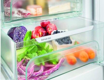 Зона свежести в холодильнике Liebherr