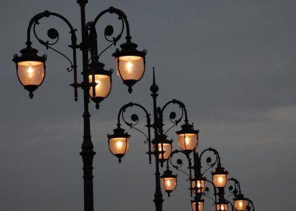 IP уличных светильников