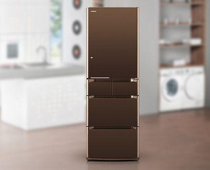 Холодильник Hitachi с изолированной полкой