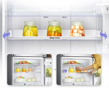 Instructions for the location of products in the refrigeration equipment