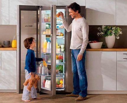 Холодильник Самсунг с тремя дверями