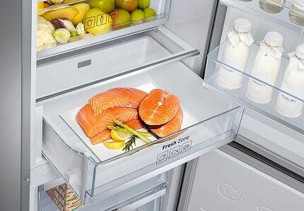 Автономная зона свежести в холодильнике Самсунг