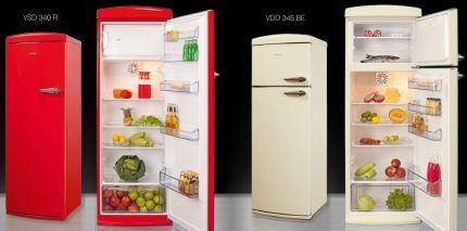 Технические достижения в ретро холодильниках Вестфорст