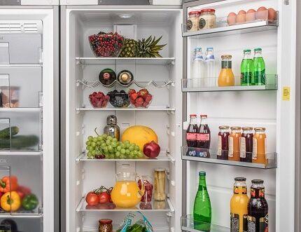 Холодильник марки Вестфорст с французской дверью
