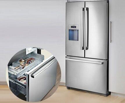 Трехдверный холодильник Бош