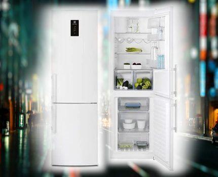 Холодильник Электролюкс EN3452JOW