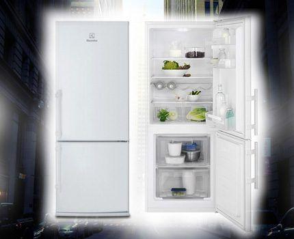 Холодильник Электролюкс EN2400AOW