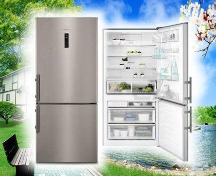 Холодильник Электролюкс EN5284KOX