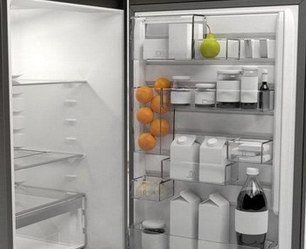 Внутреннее обустройство холодильника