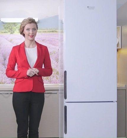 Холодильник HF 4200 W от Hotpoint-Ariston