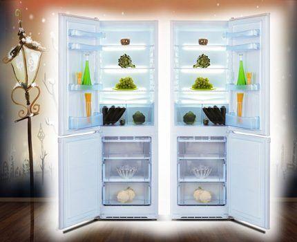 Холодильник Норд с перенавешиваемой дверью