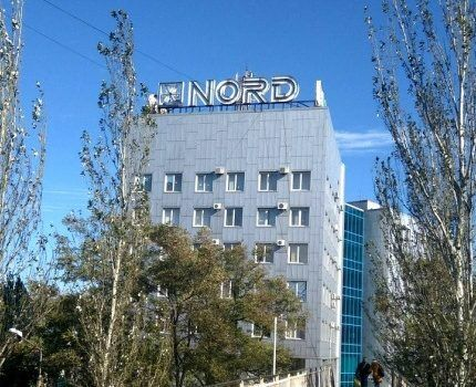 Корпус завода Норд в Донецке