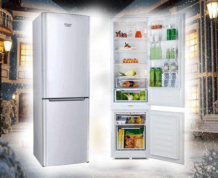 Холодильник Индезит из линейки BCB